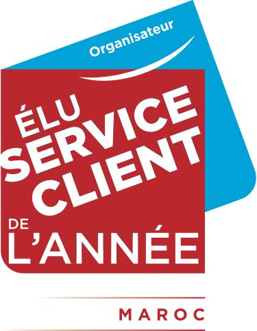 Élu Service Client de l'Année Maroc